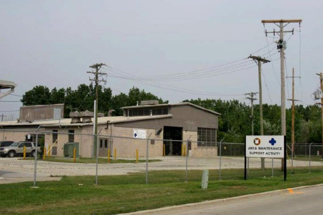 Under the Real Property Exchange Program, this Army maintenance facility in Orland Park, Ill., will be transferred to private use in exchange for infrastructure upgrades at Fort Philip H. Sheridan, Ill.