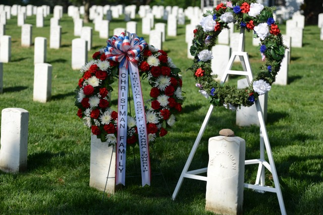 Arlington Cemetery celebrates 150, honoring 1st Soldier buried