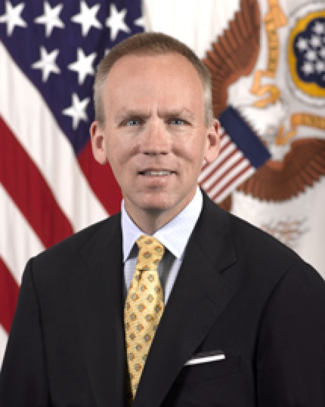 Under Secretary of the Army Brad R. Carson official photo (sized for leader page