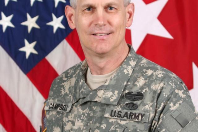 Lt. Gen. Donald Campbell, USAREUR Commander