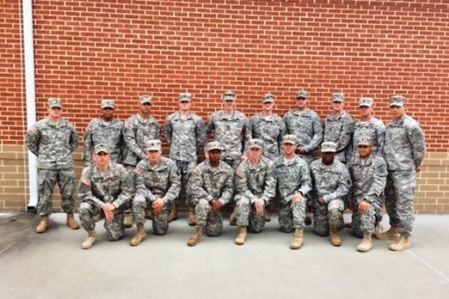 Ranger school candidates from 3rd Battalion, 15th Infantry Regiment, 4th Infantry Brigade Combat Team, 3rd Infantry Division, pose for a photo May 2, 2014, on Fort Stewart, Ga., after completing tasks during a weeklong pre-ranger selection course. (U.S. Army Photo by 2nd Lt. Jared Gray, 3-15 Inf., 4th IBCT, 3rd ID, UPAR)