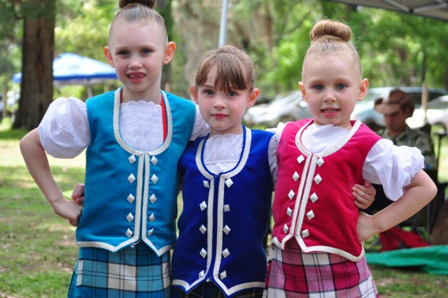 "Each of these ""lassies"" competed in the Highland Dancing Competition during the Savannah Scottish Games, May 10, 2014."