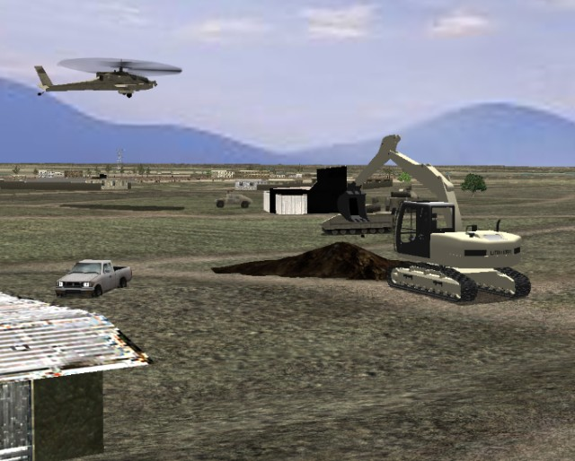 Researchers enable next generation of Army's construction simulation