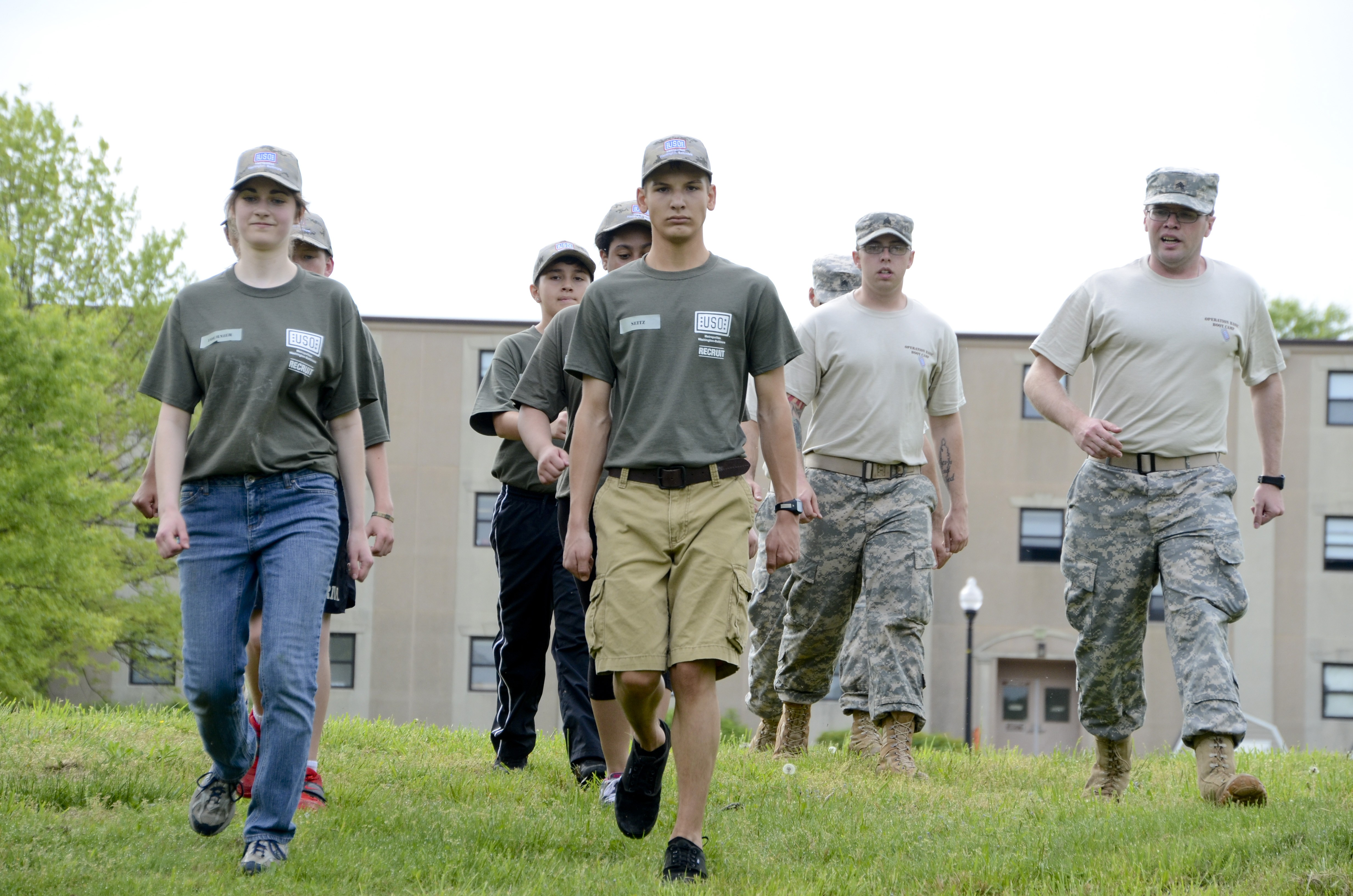 Kids ship out to Boot Camp > Joint Base Andrews