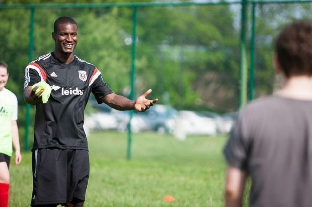 DC United lends a foot to kids at soccer clinic