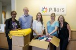 Engineer command donates clothes for sexual assault victims [Image 1 of 4]