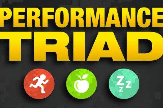Tripler Army Medical Center and Schofield Barracks Health Clinic is set to launch the Army-wide health initiative, the Performance Triad during a weeklong kick-off June 2 -6, 2014. The Performance Triad focuses on promoting physical activity, proper nutrition and optimal sleep.