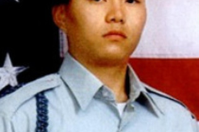 Pvt. Min S. Choi, with the 6th Squadron, 8th Cavalry Regiment, 4th Infantry Brigade Combat Team, 3rd Infantry Division, was killed in action Feb. 26, 2005, while supporting Operation Iraqi Freedom. (Courtesy photo)