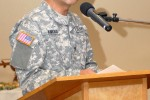 COL Todd Kimura speaks at Asian American Pacific Islander celebration
