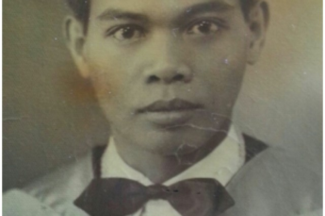Silvestre Ares is among the Philippine Scouts who survived the Bataan Death March in 1942.