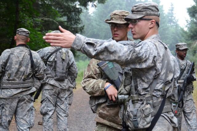 The Leader Development and Assessment Course (LDAC) is the capstone training event for all Army ROTC cadets. Its curriculum focuses on training and mentoring cadets as they lead squads and platoons of their peers through challenging scenarios.