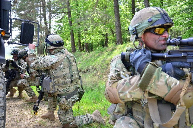 Combined Resolve II roles prepare European armies for coalition missions