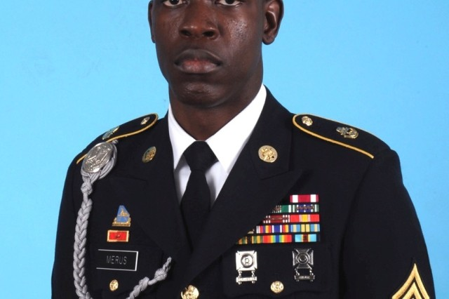 Staff Sgt. Sony Merus is pictured in his official Department of the Army photo taken on Nov. 11, 2013.