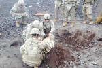 Army engineers train with explosives