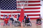 German pros join WTB-E Soldiers for wheelchair basketball game