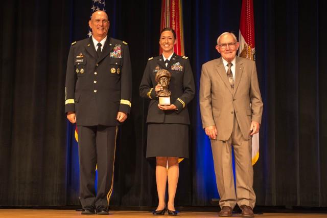 Capt. Barton's MacArthur Award
