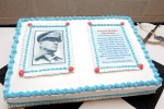 General Douglas MacArthur Leadership Awards cake