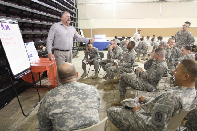 7th ID Soldiers hold situational awareness training in support of SHARP efforts