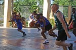 Philippine, U.S. soldiers and civilians shoot hoops, build friendships and have fun