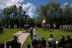 101st Airborne at Cole Monument unveiling