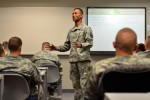 Reception Detachment prepares Soldiers for Fort Hood