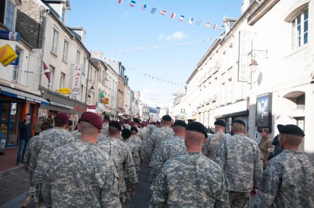 'Big Red One' Soldiers participate in Carentan memorial dedication