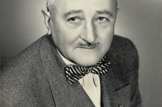 Mr. William F. Friedman, a pioneer in the field of Army cryptanalysis, in the 1950s.