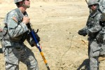 Combat engineers employ universal key