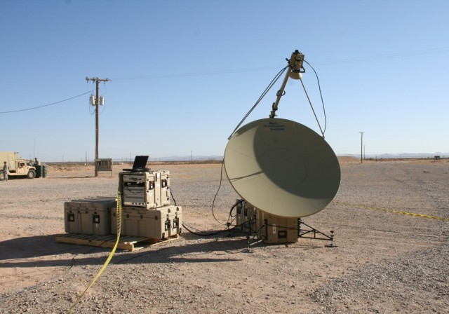 The Tropo Lite, a transit case-based tropospheric (tropo) scatter communications system