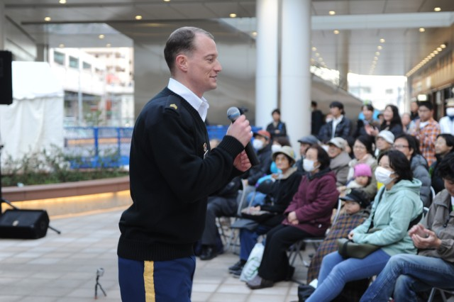 Army Band Soldier uses bilingual skills to strengthen bonds with Japanese community