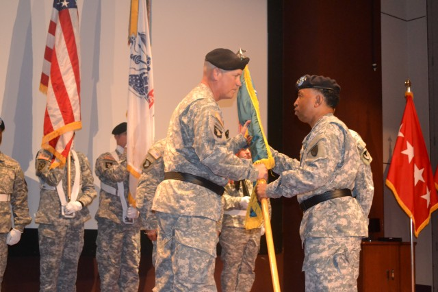 The U.S. Army Aviation and Missile Life Cycle Management Command welcomed its eighth leader in an official change of command ceremony here Wednesday, June 12.