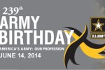 Happy 239th Birthday, U.S. Army!