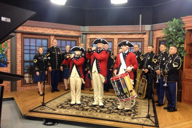 Soldiers from the The United States Army Old Guard Fife and Drum Corps and The United States Army Band perform live on CBS Philly in celebration of the U.S. Army's 239th birthday!