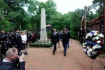 SecArmy, SMA lay wreath at President George Washington's tomb