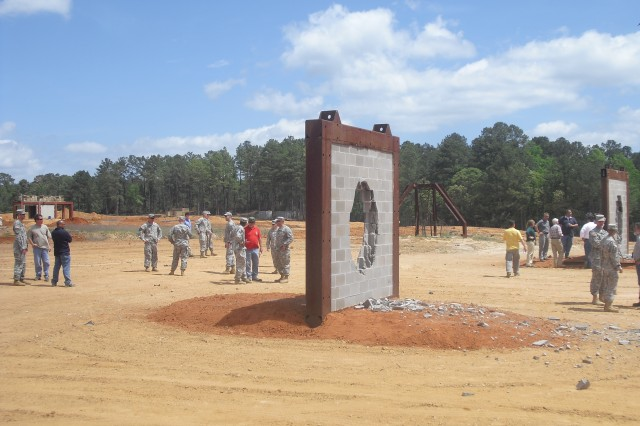 The Scalable/Selectable Breacher capabilities are demonstrated at Fort Polk, Louisiana. The SSB allows the dismounted Soldier mission flexibility by providing a single system that can successfully breach a wide range of urban wall types, has the potential to enhance operational maneuverability and save lives.