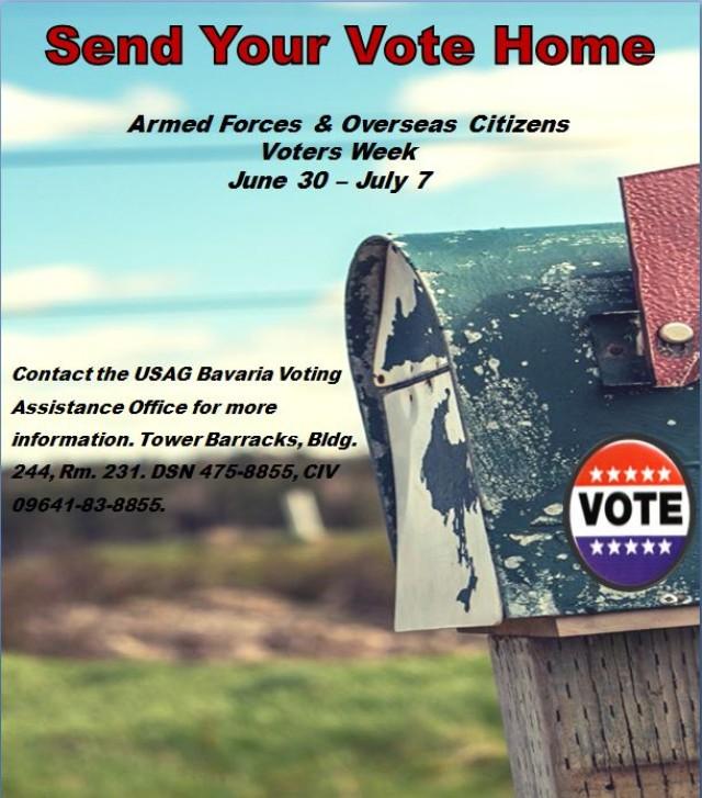 Send your vote home
