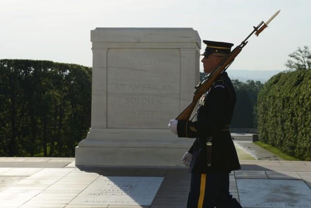 Sergeant of the Guard's final walk