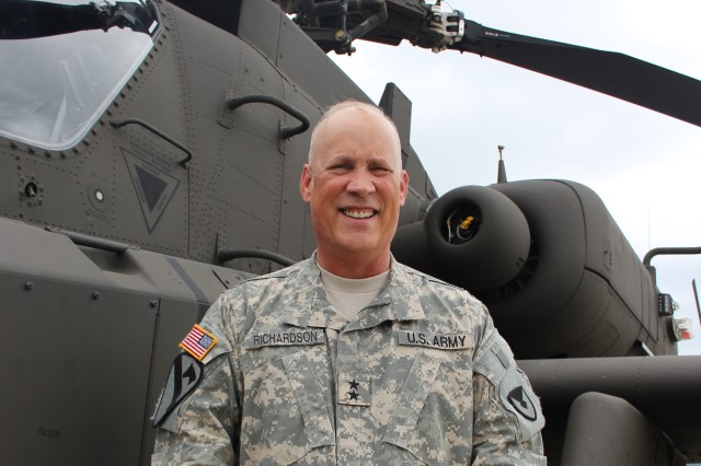 Maj. Gen. Jim Richardson is the new commander of the Aviation and Missile Command.