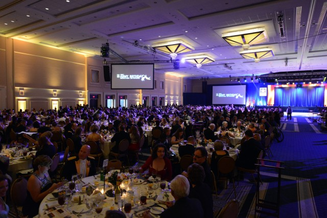More than 1,000 Soldiers and family members were in attendance at the 2014 Army Birthday Ball, June 21, 2014, at National Harbor, Maryland.