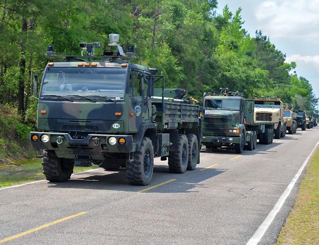 AMAS CAD II convoy
