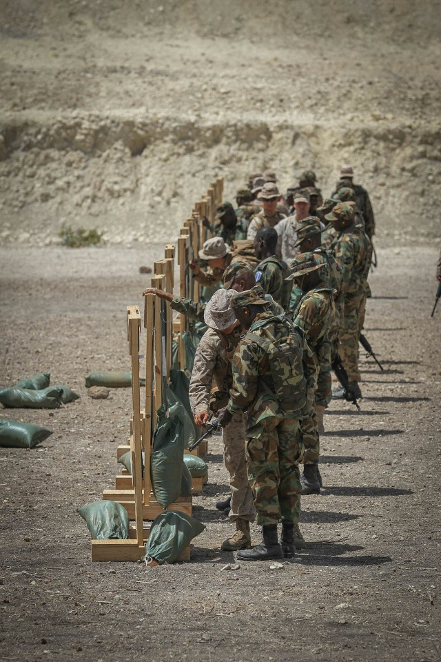 Marines, West African nations train together during Western Accord 14