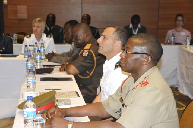 USARAF personnel present gender integration seminar to African leaders