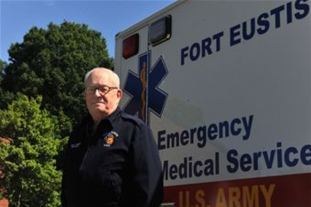 Barry Johnson, a paramedic assigned to Fort Eustis, Va., Emergency Medical Services, has been working in the emergency medical service field for 50 years. Through his experiences, Johnson has been able to share his knowledge and skills by serving as a teacher and role model to other paramedics and colleagues.