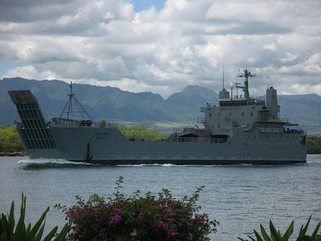 Army watercraft, divers, sustainment troops to participate in RIMPAC 2014