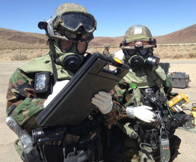South Korean troops participate in CBRNE exercise