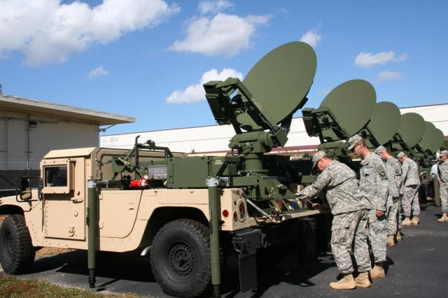 The Army uses the Acquisition Logistics Performance Scorecard (ALPS), a logistics management and tracking tool, to manage the Advanced Extremely High Frequency (AEHF) Secure Mobile Anti-Jam Reliable Tactical -- Terminals (SMART-T) program. SMART-Ts make it possible for Soldiers to extend the range of their network in such a manner that communications cannot be jammed, detected or intercepted.