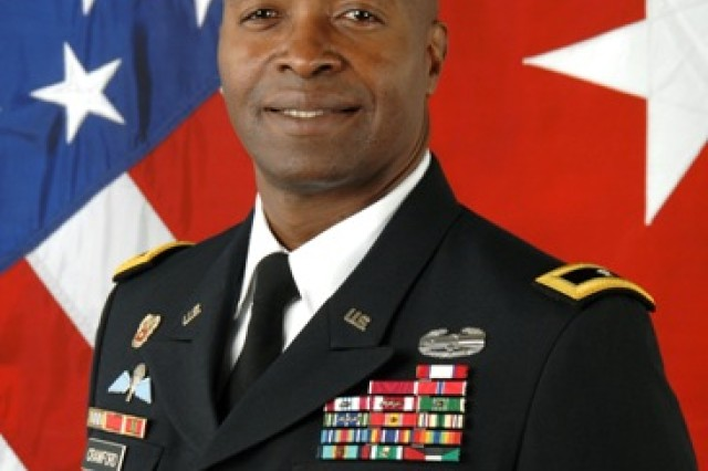 Brig. Gen. (P) Bruce T. Crawford, commanding general of U.S. Communications-Electronics Command