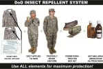 Permethrin-treated uniforms protect against lethal diseases