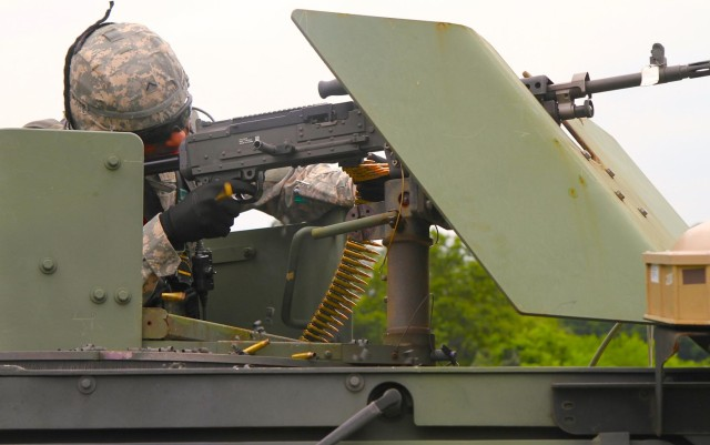 25th Transportation Battalion conducts first live-fire gunnery exercise