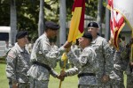 Brig. Gen. Karbler relinquishes command of the 94th AAMDC, June 27, 2014.